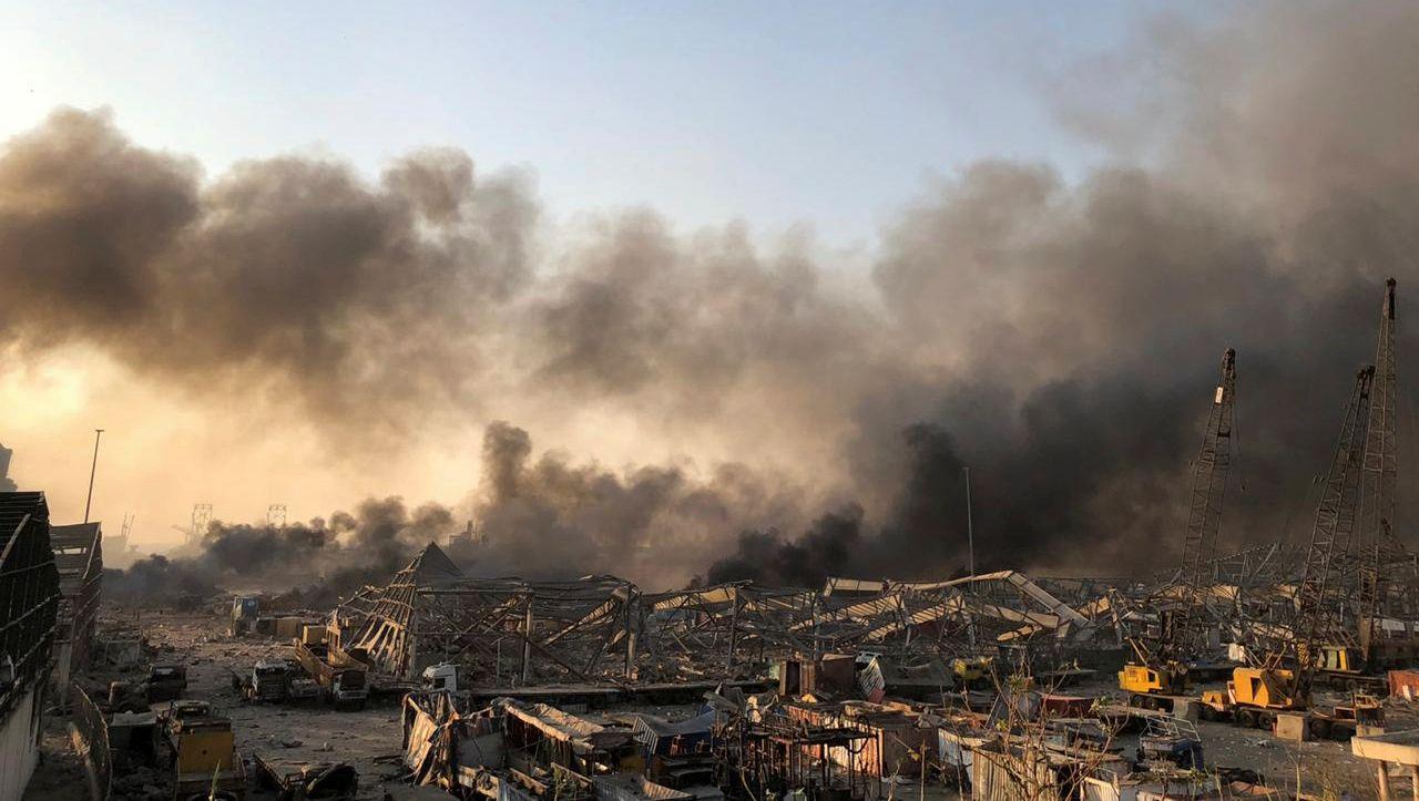 Photo of Beirut: Gewalttätige Explosion erschüttert libanesische Hauptstadt