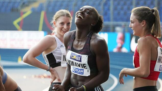 Photo of Braunschweiger Leichtathletik-Meisterschaften: Lisa-Marie Kwayie – eine Erfolgsgeschichte aus Neukölln – Sport