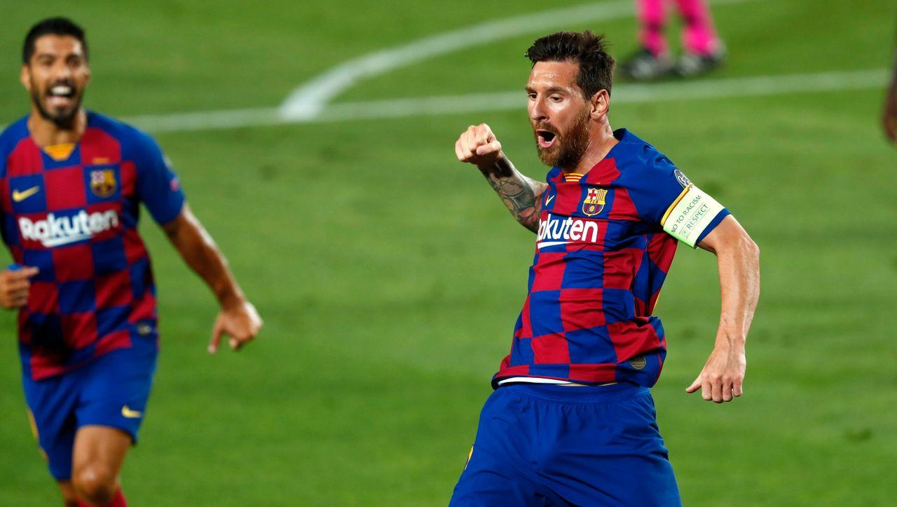 Das Weltklasse-Tor von Lionel Messi bereitet den FC Barcelona auf dem Weg ins Viertelfinale gegen den SSC Napoli vor