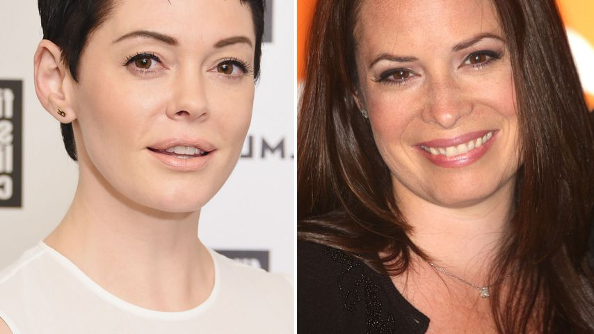 Collage: Rose McGowan und Holly Marie Combs