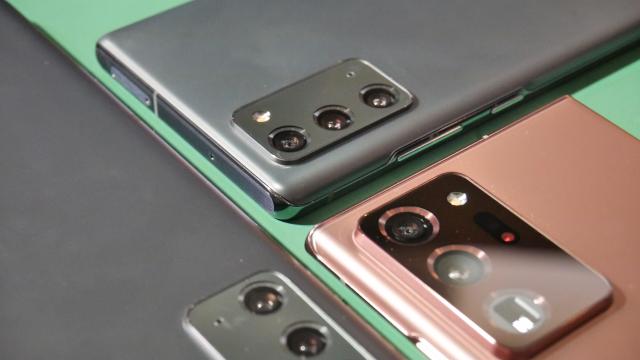 Galaxy Note 20 (Ultra) im Einsatz: Samsung speichert an den falschen Stellen