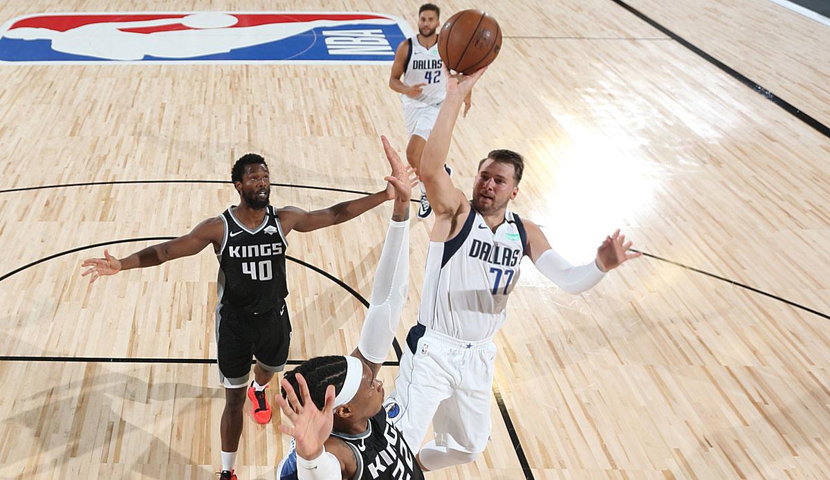 Geschichte Luka Doncic führt Dallas Mavericks zum Sieg über Sacramento Kings in der Verlängerung