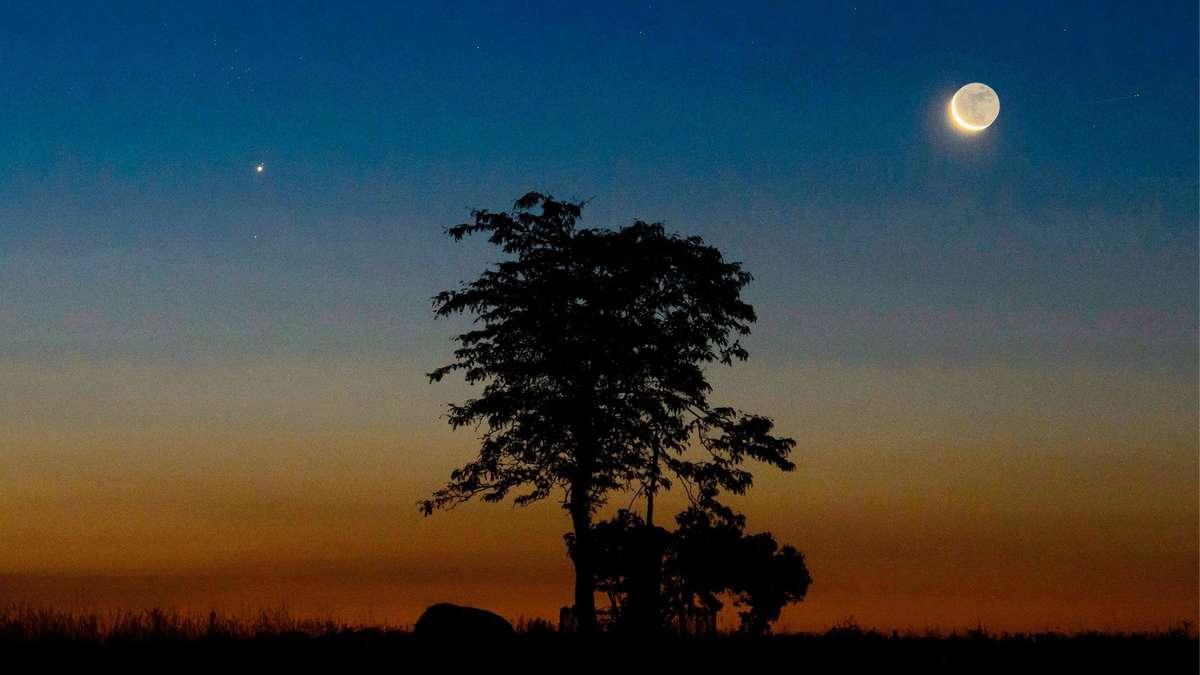 """Highlight nach """"Neowise"""": Sehen Sie heute die Planeten und Sternschnuppen am Himmel"""