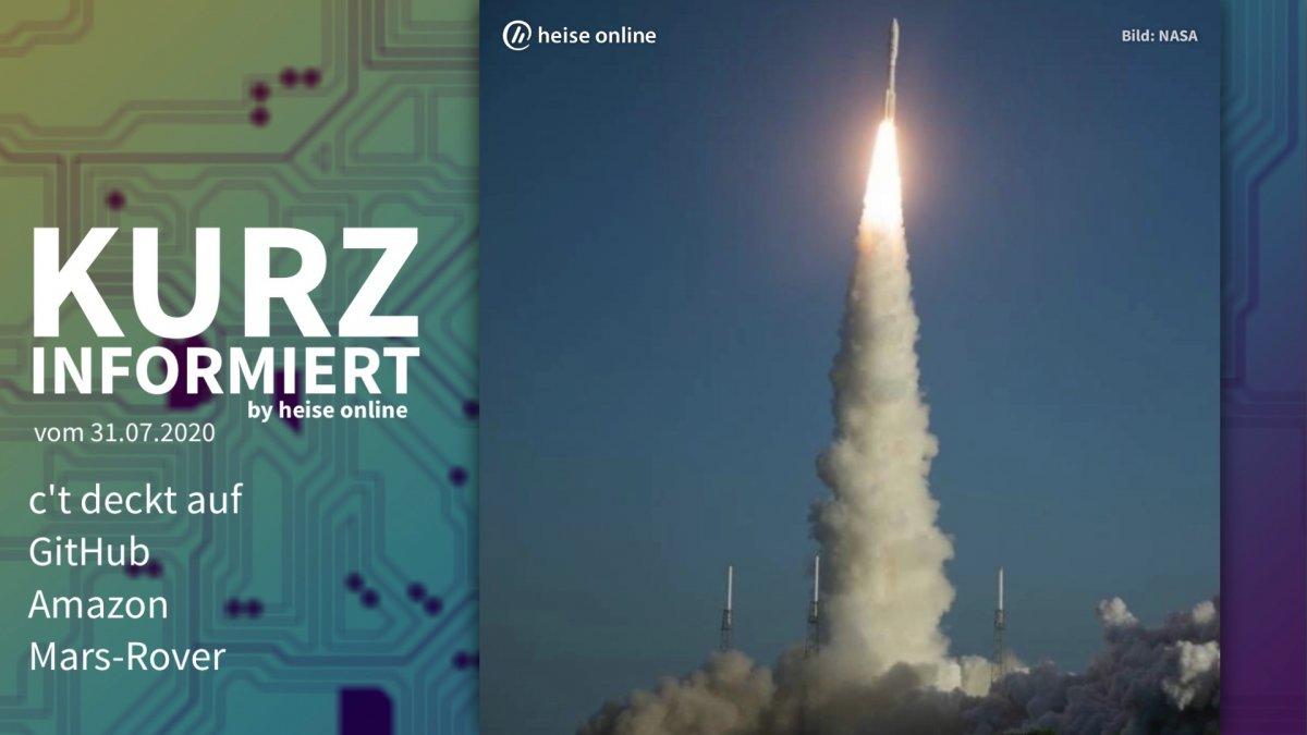 Photo of Kurz informiert: Sie können nicht entdecken, GitHub, Amazon, Mars-Rover