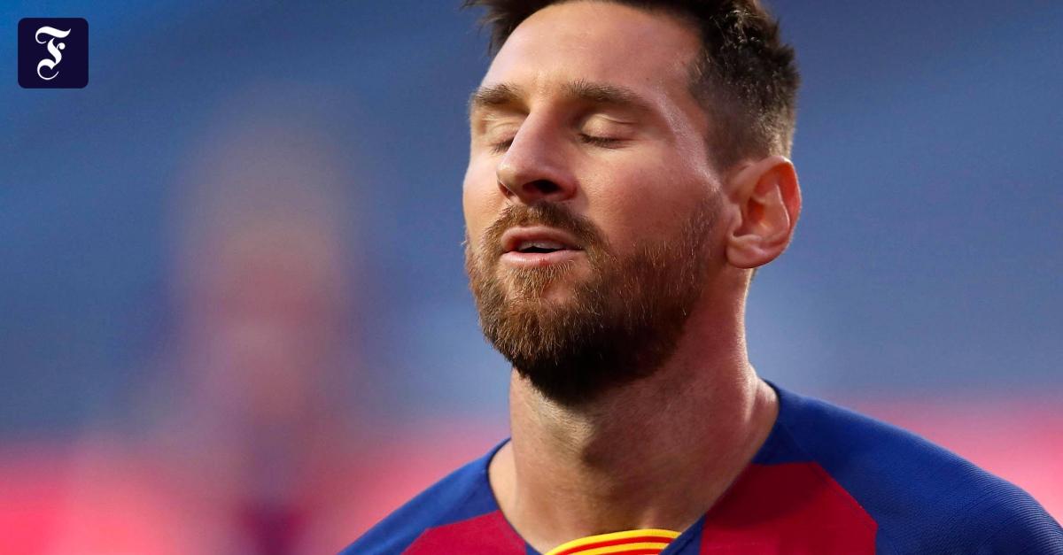 Photo of Lionel Messi beim FC Barcelona, bevor er nach dem Debüt der Bayern abreist