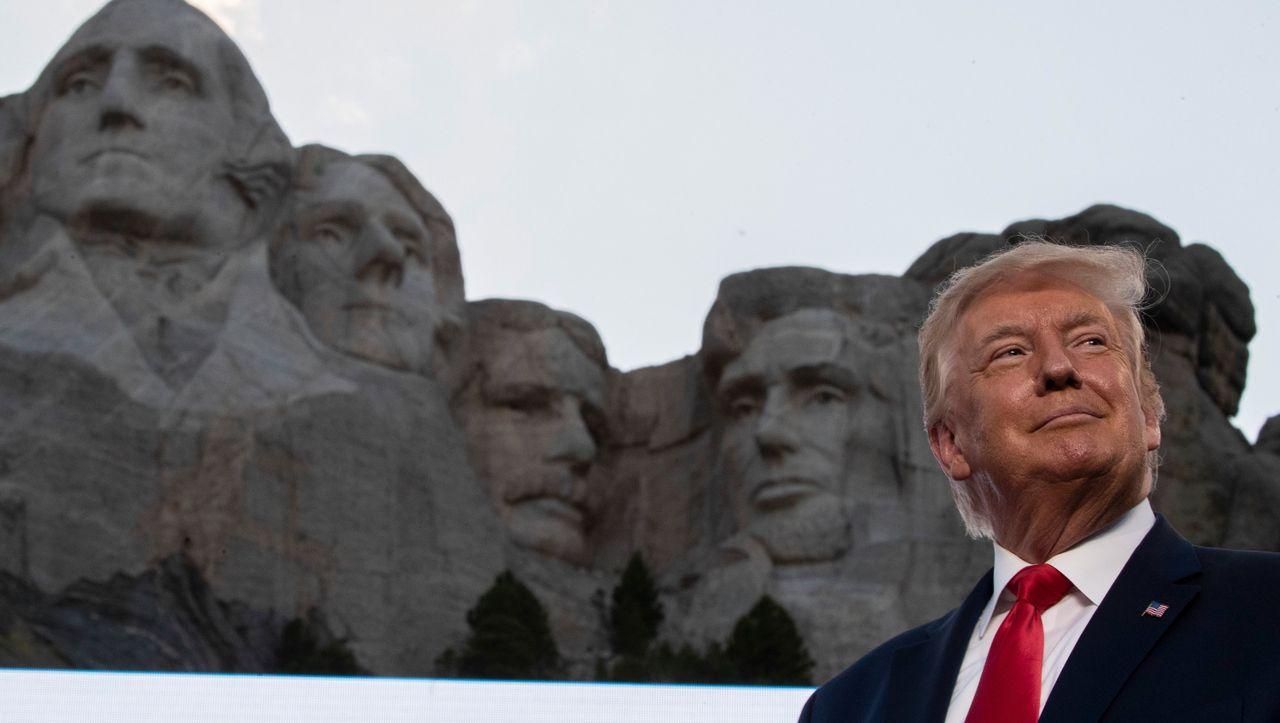 Photo of Mount Rushmore: Donald Trump möchte auf dem Mount Rushmore unsterblich sein