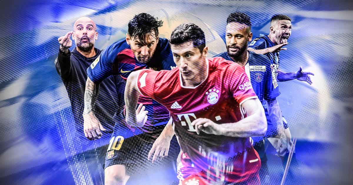 Photo of Power-Rangliste zu Beginn des Finales 8 beim FC Bayern, ManCity