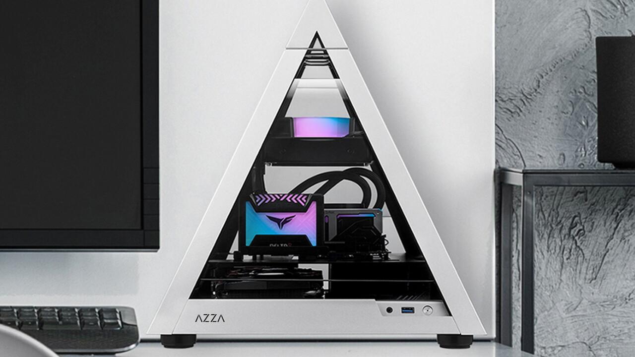 Photo of Pyramidenfall: Azza reduziert die Pyramide auf das Mini-ITX-Format