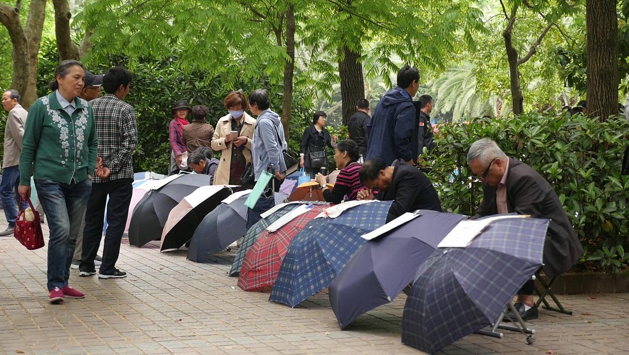 """Photo of Shanghai Wedding Market: """"Es geht nicht um Liebe, es geht um Geld"""""""