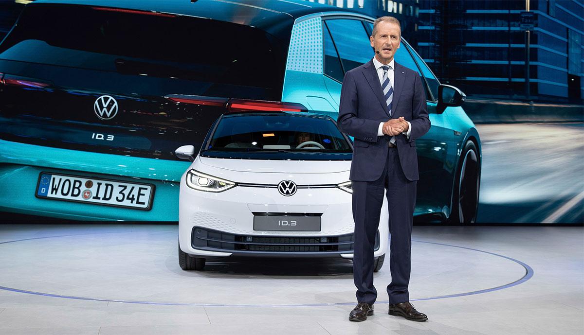 """Photo of VW-Chef: """"Corona beschleunigt tendenziell die elektronische Mobilität"""""""