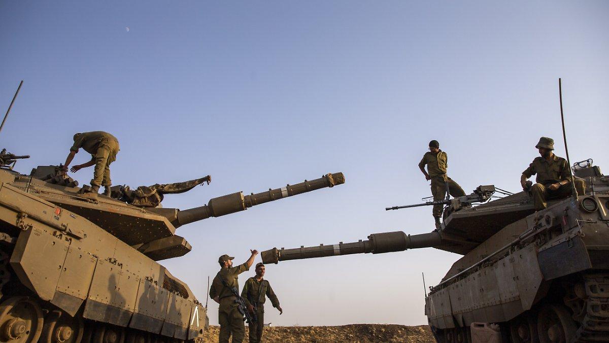 Vorheriger Angriff vereitelt?: Israel greift Ziele in Südsyrien an